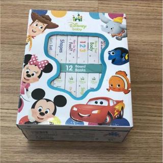 新品 Disney 英語絵本 ベビーミッキーのミニボードブック12冊セット(絵本/児童書)