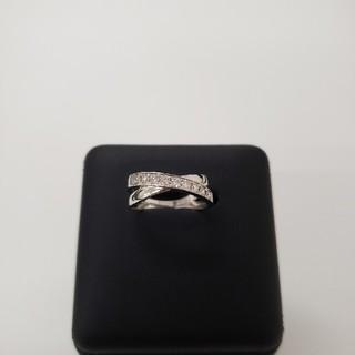クロスライン・ダイヤモンドリング(リング(指輪))