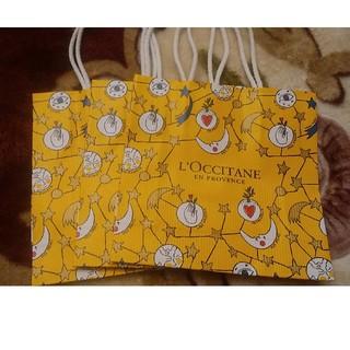 ロクシタン(L'OCCITANE)の☆ロクシタン☆ショッパーSサイズ3枚☀️(ショップ袋)