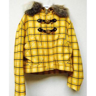 ミュウミュウ(miumiu)のmiu miu ミュウミュウ ファー コート ジャケット(毛皮/ファーコート)