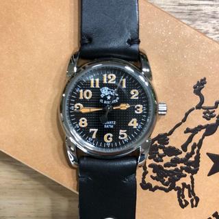 イルビゾンテ(IL BISONTE)の新品 イルビゾンテ 腕時計 黒 ベルト ブランド ブレスレット ウォッチ ケース(腕時計)