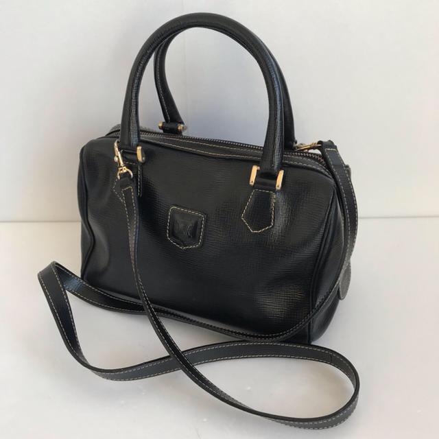 celine(セリーヌ)のセリーヌ 2WAYバッグ レザー 黒 レディースのバッグ(ボストンバッグ)の商品写真