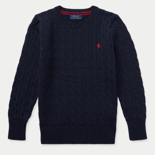 ラルフローレン(Ralph Lauren)のM 新品タグ付き ラルフローレン ケーブルコットン セーター(ニット/セーター)