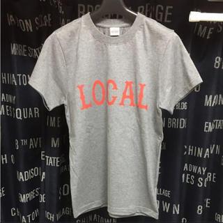 キャリー(CALEE)のCUTRATE カットレイト Tシャツ グレー S 美品(Tシャツ/カットソー(半袖/袖なし))