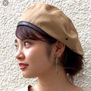 カスタネ(Kastane)のkastane チノパイピングベレー帽(ハンチング/ベレー帽)