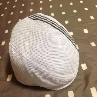 アディダス(adidas)のハンチング、キュロットスカート(ハンチング/ベレー帽)