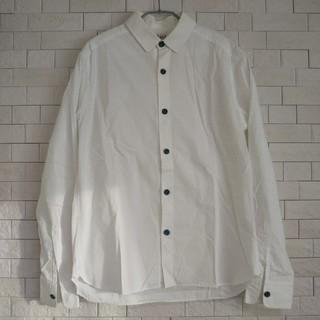 ヤエカ(YAECA)の【最終値下げ】eel イール 陶器釦のシャツ ホワイト(シャツ)