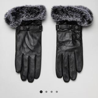 バーニーズニューヨーク(BARNEYS NEW YORK)のNatsu様専用新品 Barney's original レディース本革手袋(手袋)