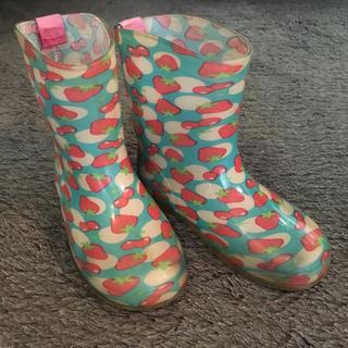 ムージョンジョン(mou jon jon)の長靴 17cm(長靴/レインシューズ)