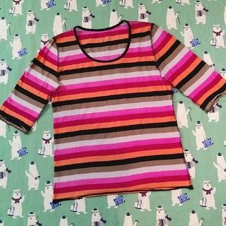 ソニアリキエル(SONIA RYKIEL)のソニアリキエル 春夏物 マルチカラー Tシャツ(Tシャツ(長袖/七分))