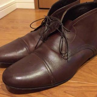 ザラ(ZARA)のZARA チャッカーブーツ 革靴(ドレス/ビジネス)