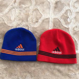アディダス(adidas)のkidsニット帽(ニット)