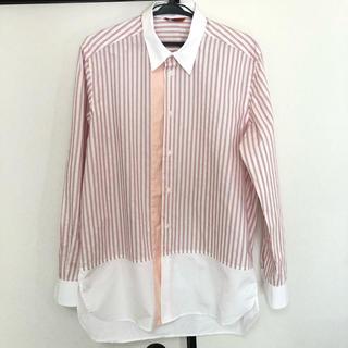 バレナ(BARENA)のバレナ BARENA ストライプ ロングシャツ オーバーシャツ(シャツ)