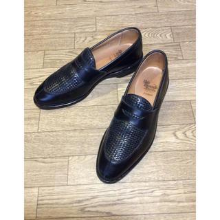アレンエドモンズ(Allen Edmonds)のAllen Edmonds ブラック サイズ8(26.0cm)(ドレス/ビジネス)