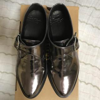 ドクターマーチン(Dr.Martens)のドクターマーチンMILLERダークシルバー(ローファー/革靴)