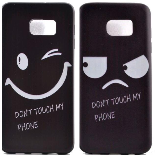iphone7 ケース おしゃれ 海外 au | 【左側単品】Galaxy s7 edge 可愛い ニコちゃん スマイル ソフトの通販 by 雪だるま's shop|ラクマ