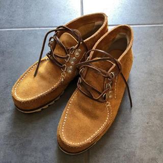 ジュンヤワタナベ(JUNYA WATANABE)のJUNYA WATANABE 靴 ベージュ 茶色 オレンジ 黄色(ドレス/ビジネス)