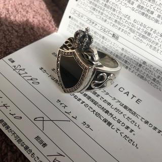 ジャスティンデイビス(Justin Davis)の超美品 ジャスティンデイビス ヘリテージ リング 指輪(リング(指輪))