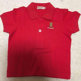 ミキハウス(mikihouse)のMIKI HOUSE赤ポロシャツ(ポロシャツ)