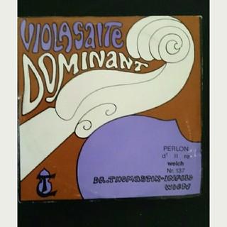 新品☆ドミナント DOMINANT D線 weichヴィオラ弦(ヴィオラ)