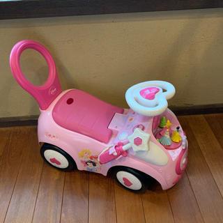 ディズニー(Disney)のディズニー プリンセス ライドオン 乗用玩具(電車のおもちゃ/車)