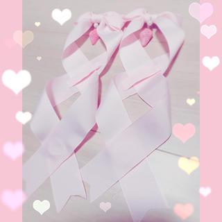 アンジェリックプリティー(Angelic Pretty)の苺のツインテールリボン2個セット (ヘアアクセサリー)