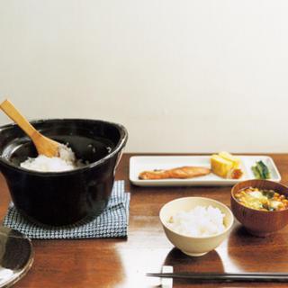 ムジルシリョウヒン(MUJI (無印良品))の無印 ご飯 土鍋 おひつ おこげ(炊飯器)