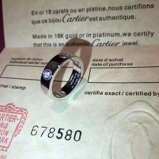 カルティエ(Cartier)の Cartier ラニエール K18WG リング #48(リング(指輪))