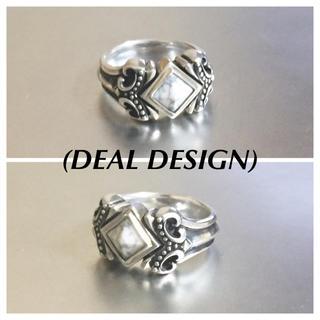ディールデザイン(DEAL DESIGN)のディールデザイン クイーンスタッズリング925silver(リング(指輪))
