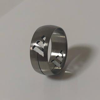 アディダス(adidas)のステンレスリング 15号 adidas 指輪(リング(指輪))