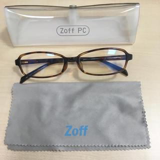 ゾフ(Zoff)の【美品】Zoff PCメガネ(サングラス/メガネ)