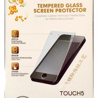 アイポッドタッチ(iPod touch)のiPod touch 5 6 ガラス 保護フィルム(保護フィルム)