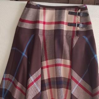タータンショップヨーク(TARTANSHOP YORK)のフレアースカート(ひざ丈スカート)