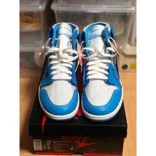 オフホワイト(OFF-WHITE)のOff White Nike The Ten  Air Jordan 1 unc(スニーカー)
