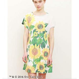 グラニフ(Design Tshirts Store graniph)のグラニフ 腹ペコあおむし ひまわり ワンピース(その他)