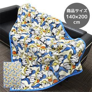 ディズニー(Disney)の新品 Disney シングル毛布 ドナルドダック 140X200(毛布)