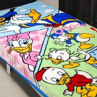 ディズニー(Disney)の新品Disney シングル毛布 ドナルドダック(毛布)