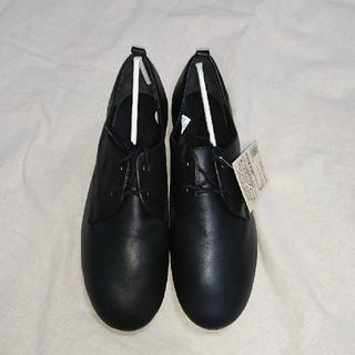 ムジルシリョウヒン(MUJI (無印良品))の無印 レースアップシューズ(ローファー/革靴)