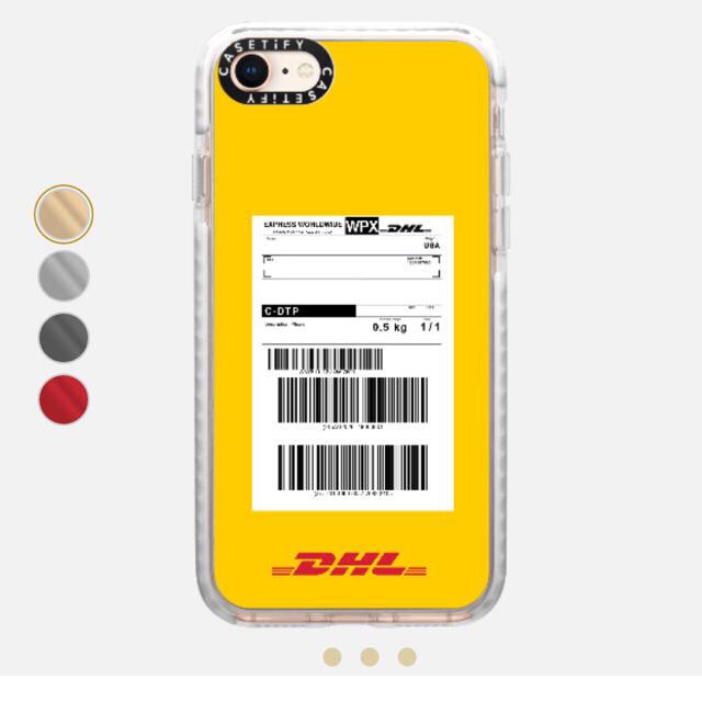 スマホケース iphone7 かわいい | Balenciaga - DHL × CASETiFY iPhone8 ケースの通販 by ブランド古着|バレンシアガならラクマ