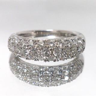 みい様専用ページ✴Pt900✴ ダイヤ パヴェリング 1.02ct 指輪 12号(リング(指輪))