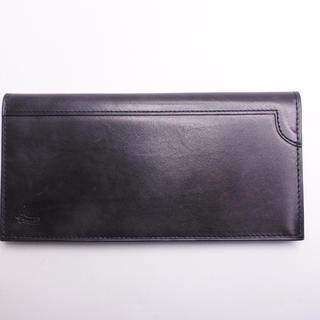 ジョンロブ(JOHN LOBB)のジョンロブ 長財布 ブラック 最高級品 中古 札入れ メンズ 良好品 正規品(長財布)