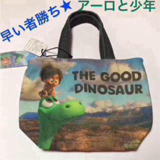 ディズニー(Disney)のアーロと少年 グラフィック トートバッグ 男の子用 ダイナソー 恐竜大集合♡(トートバッグ)