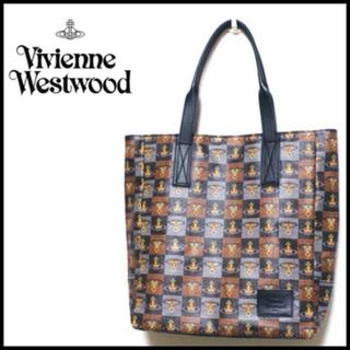 ヴィヴィアンウエストウッド(Vivienne Westwood)のVivienne Westwood MAN 総柄トートバッグ 付属品あり(トートバッグ)
