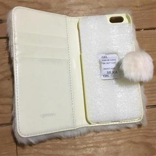 グースィー(goocy)のiPhone6plusケース手帖型新品未使用(iPhoneケース)