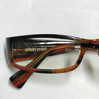 アランミクリ(alanmikli)の *alain mikli アランミクリ* セルフレーム眼鏡/フランス製(サングラス/メガネ)