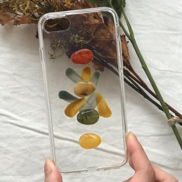 iphone 7 ケース 6用 | Kastane - marble retoro paint iPhone case handmadeの通販 by Natary'.. shop|カスタネならラクマ