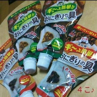 イムラヤ(井村屋)の4こ おにぎりの具(インスタント食品)