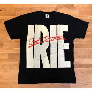 アイリーライフ(IRIE LIFE)の【美品】IRIE LIFE BIG LOGO Tシャツ L ブラック 黒 蓄光(Tシャツ/カットソー(半袖/袖なし))