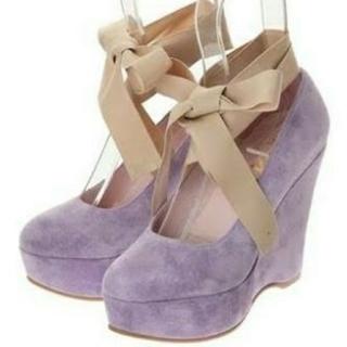 ケイティー(Katie)のKatie★FRANCES wedge ballet heel パンプス(ハイヒール/パンプス)