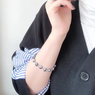 pearl bracelet ブルー(ブレスレット/バングル)